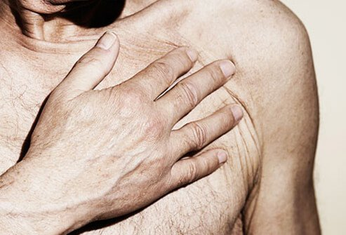 Chest pain is the most telltale symptom of a heart attack.