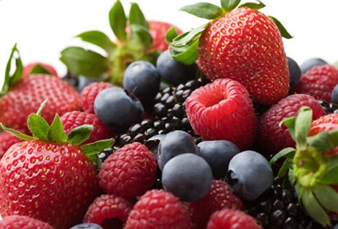 Berries are good for your heart and the rest of your body.