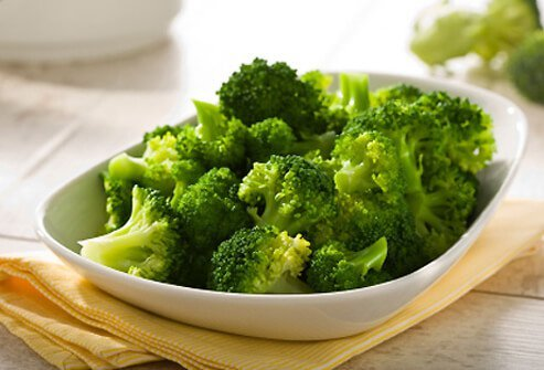 Broccoli tastes great added to soups.
