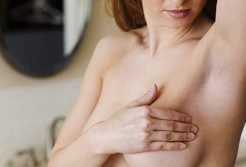 High or low estrogen can lead to breast changes.