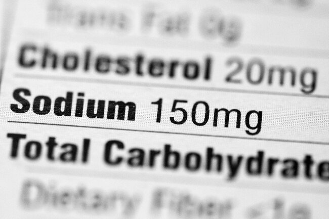 High sodium levels have been linked with a long-term risk of developing atrial fibrillation AFib.