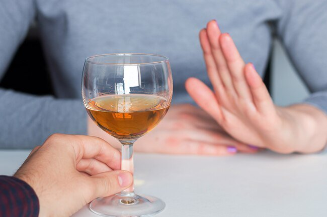 Even a little alcohol can bring on a rapid heartbeat and other atrial fibrillation AFib symptoms.
