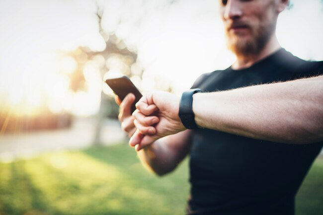 There are all kinds of gadgets and apps that can tell you how far you go each day in steps or miles.