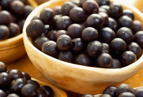 Acai berries are high in anthocyanins which are flavonoid molecules combat oxidative stress in the body and lower inflammation.