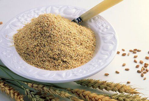 Wheat germ is rich in B vitamins, zinc, and vitamin E and helps bump up nutrition when added to foods.