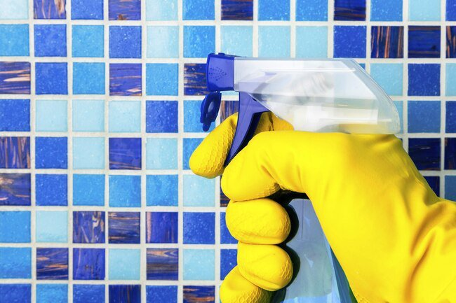 Opt for low-VOC or no-VOC cleaning products that won't irritate your eyes, throat, lungs, and nervous system.