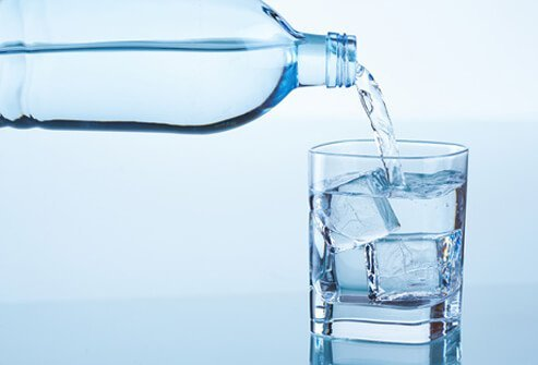 Try to drink enough water to keep your urine clear.