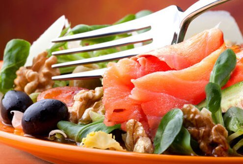 Eat a heart-healthy diet to reduce your risk for AFib.