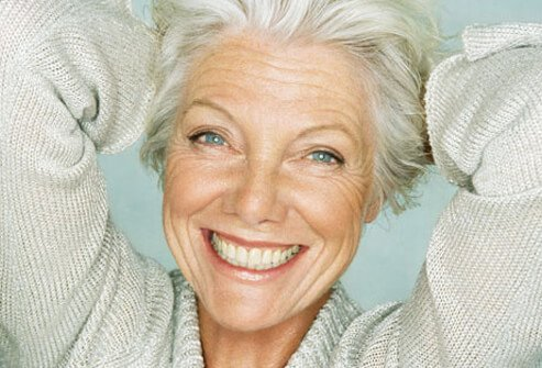 Many women choose to go gray as they get older.