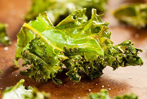 Photo of kale chips.