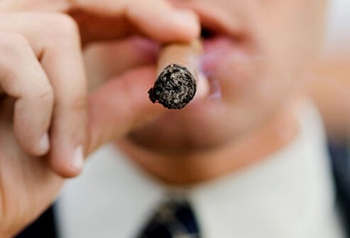 Just like cigarettes, they'll put you at risk for cancers of the mouth, throat, esophagus, and lungs.