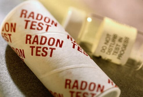 Radon test kit.