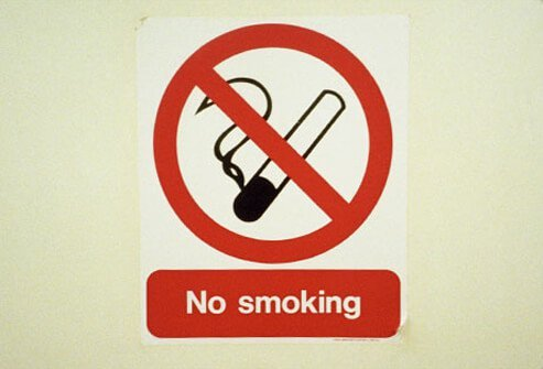 Non-smoking sign.