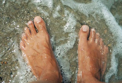 No beach body is complete without tidy feet.