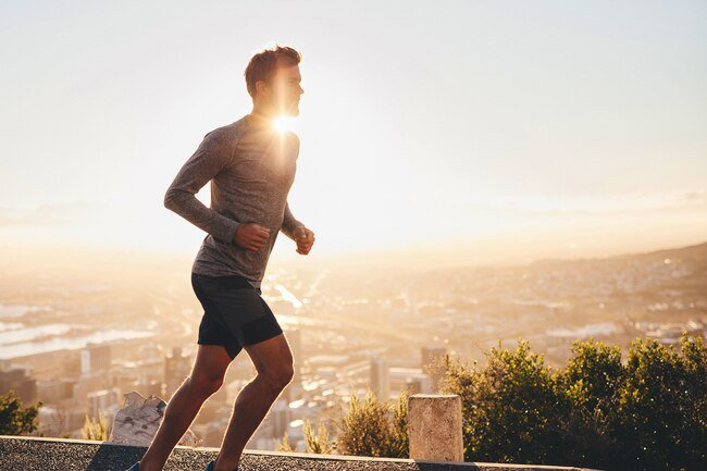 Do some moderate exercise before you sit down to eat in the mornings.