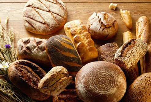 High-fiber breads containing insoluble fiber support good bowel function.