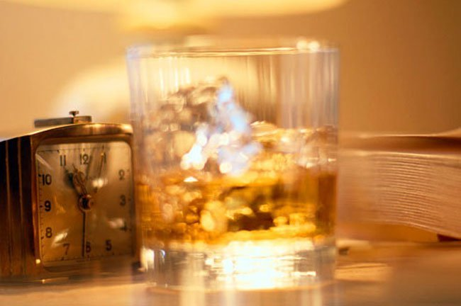 Alcohol makes it easier for the airway to become blocked in people with sleep apnea.