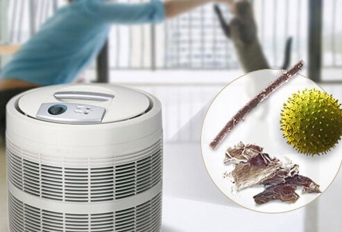 It works best for removing pet dander and pollen, but not as well for dust mites.