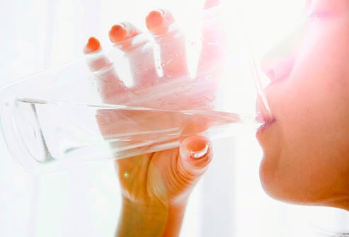 Staying hydrated with water and juice can help relieve sinus pain and pressure.