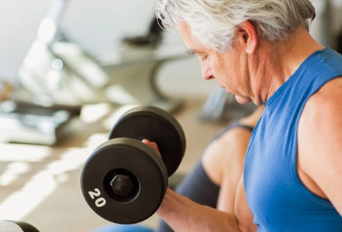 Focus your workouts on your muscles.