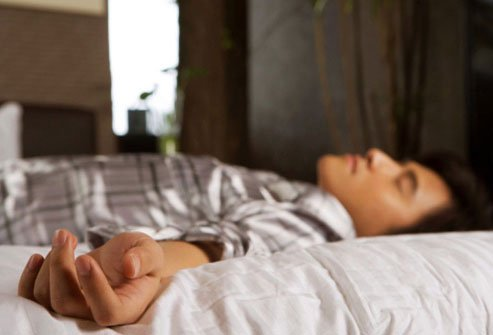 Your body turns up the testosterone when you fall asleep.
