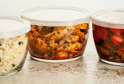 Be careful about what you store your leftovers in.