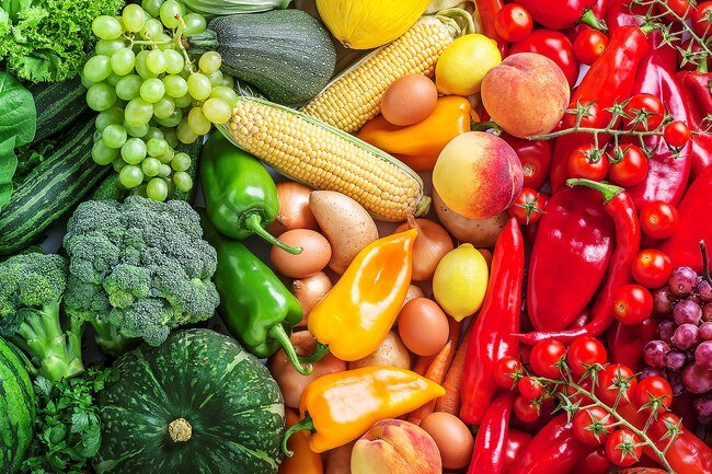Colorful produce is rich in antioxidants like beta-carotene and vitamins C and E that help fight inflammation in your body.