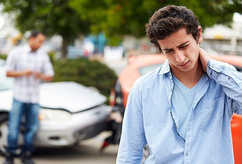 When your head snaps back and forth, as can happen in an auto accident, you may develop whiplash.