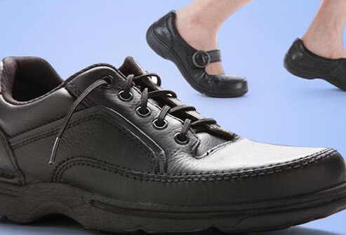 : Cushioned soles allow you to exercise and perform physical activity with less pain.