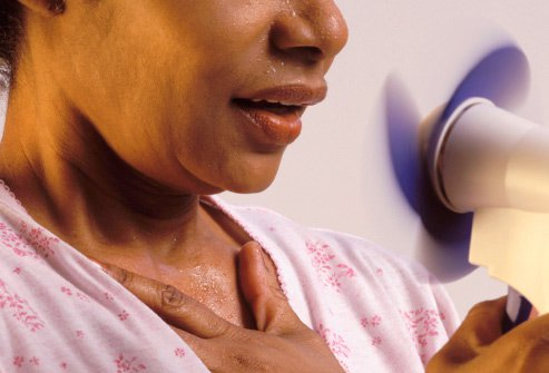 Although often associated with menopause, hot flashes often begin much earlier.
