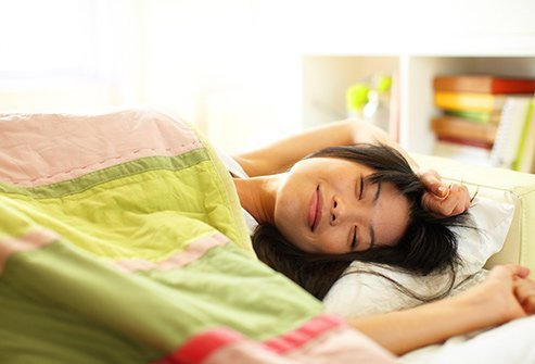 Poor sleep patterns can encourage menstrual distress.