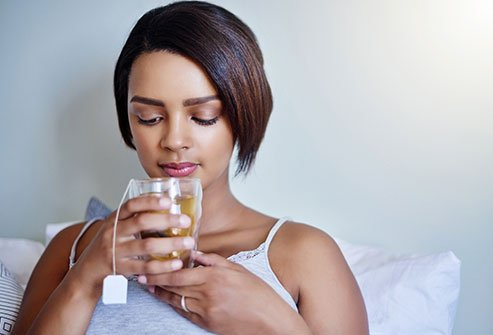 Sipping chamomile tea may help reduce cramps when you menstruate.