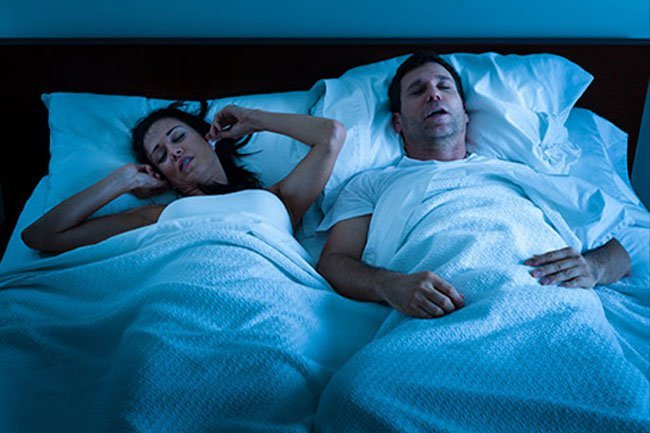 Sleep apnea increases heart risks so see your doctor if you think you have it.