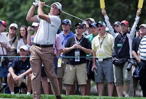 American professional golfer, Phil Mickelson, was diagnosed with psoriatic arthritis in 2010.