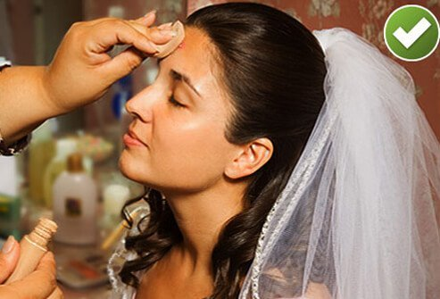 When acne strikes right before your wedding or other big event, it's no time for wimpy concealer.