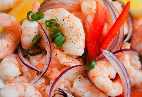 Ceviche is raw seafood marinated in lime or lemon juice.