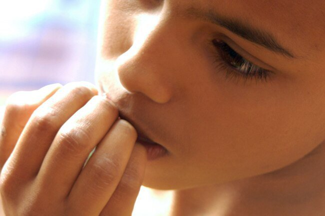 Intense anxiety and worry are symptoms of an anxiety disorder.