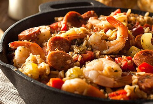 Crave Cajun food? It can be packed with saturated fat and salt.