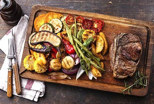 Meat, fish, rice, beans, fruits, and vegetables are all fine for people with celiac disease, when prepared without ingredients that contain gluten.