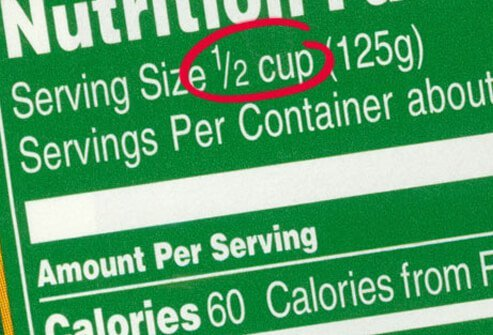 Watch the Serving Size