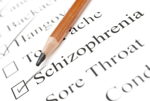 Schizophrenia health care check list.