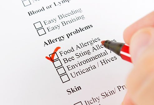 Some seasonal allergies can also cause food allergies.