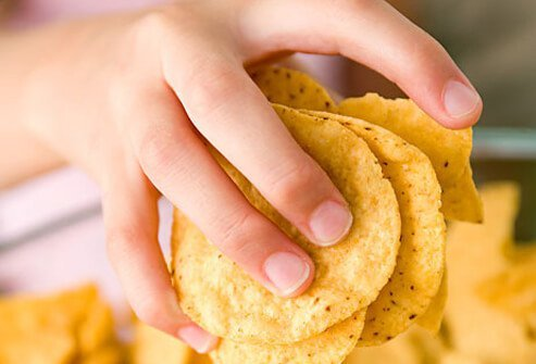 Photo of tortilla chips.