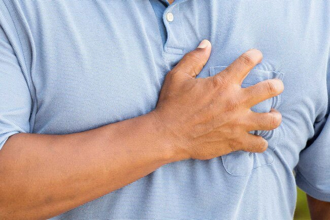 You may want to get an antibody test if you had chest pain along with other symptoms of COVID-19 or if you still have them.