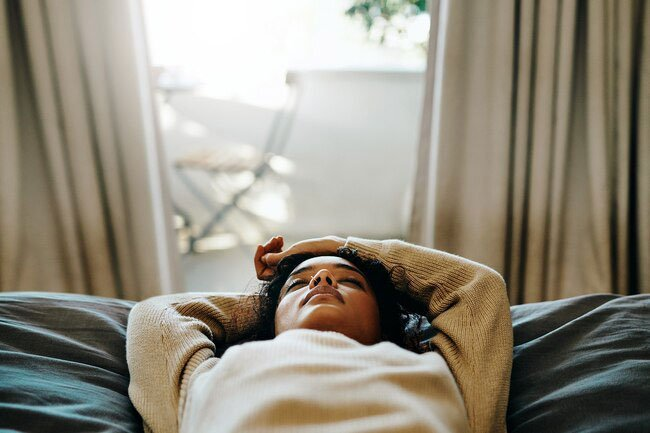 One study found that some people with COVID-19 were still tired weeks later.
