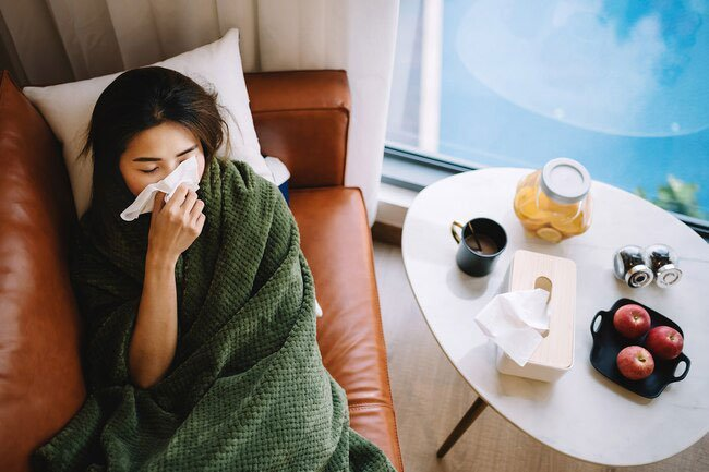 The achy, sore muscle feeling you get when flu sets in is a result of your immune system's response to the virus, not the flu itself.