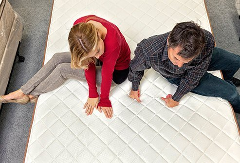 Your mattress should be supportive and comfortable.