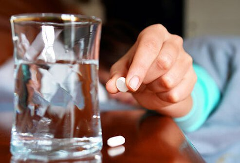 To help relieve the pain, over-the-counter pain relievers may be used.