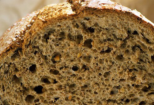 Breads are a good complex carbs.