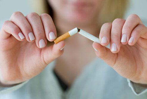 Smoking weakens the valve at the end of the esophagus (the tube that goes from your mouth to your stomach).